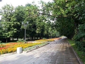 Сквер Девичьего поля в Москве