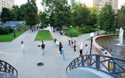 Украинский бульвар, метро Киевская, Москва