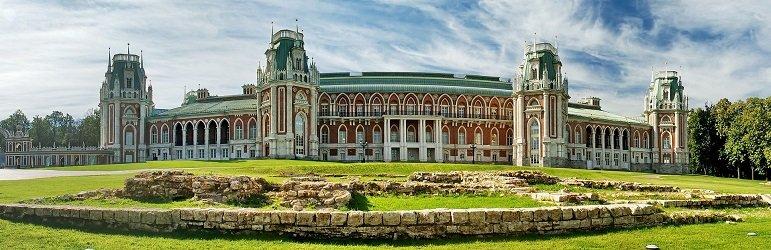 Большой дворец в Царицыно.