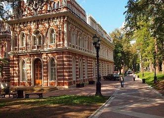 Оперный дом или Средний дворец в Царицинском парке, Москва.