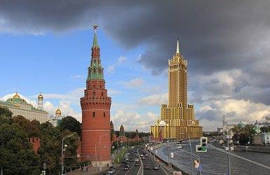 Административное здание в Зарядье в Москве - проект.