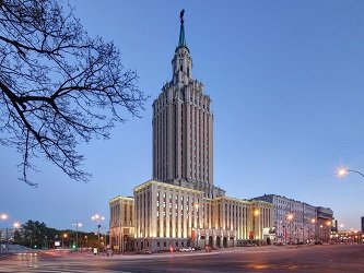 Гостиница «Ленинградская» - Hilton Moscow Leningradskaya Hotel.