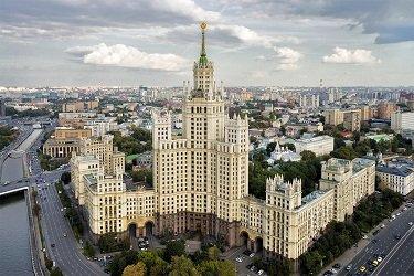 Жилой дом на Котельнической набережной - сталинская высотка.