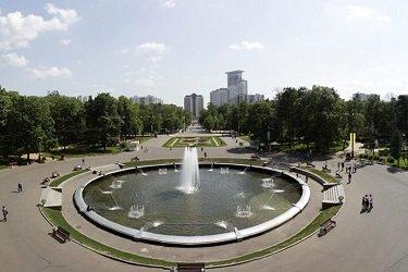 Фонтанную площадь в парке Сокольники