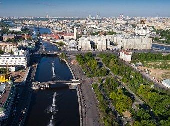 Болотная площадь и Лужков мост