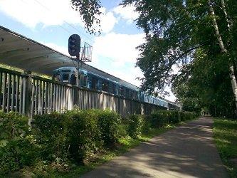 Станция метро Измайловская - Измайловский лесопарк.