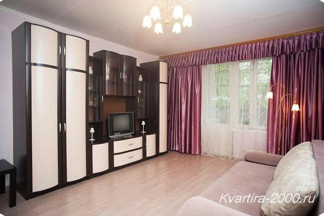 Однокомнатная квартира на сутки м. Шаболовская