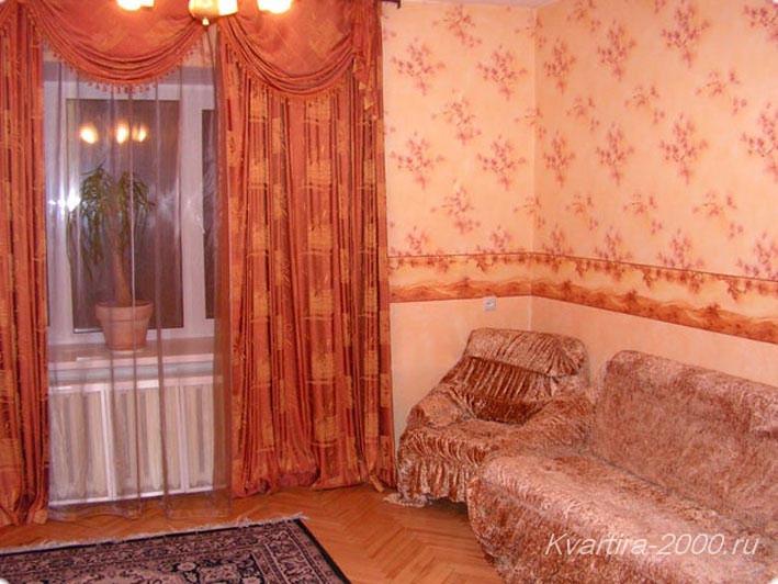 Посуточная аренда двухкомнатной квартиры м. Смоленская