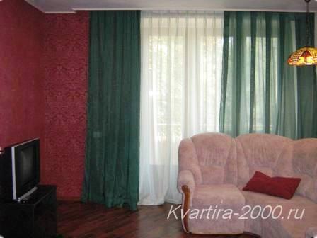 Двухкомнатная квартира на сутки м. Профсоюзная по цене 3300 рублей