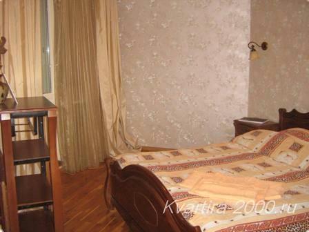 3-х комнатная квартира на сутки м. Беляево
