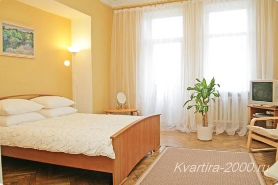 Снять в аренду 3-комнатную квартиру м. Кутузовская