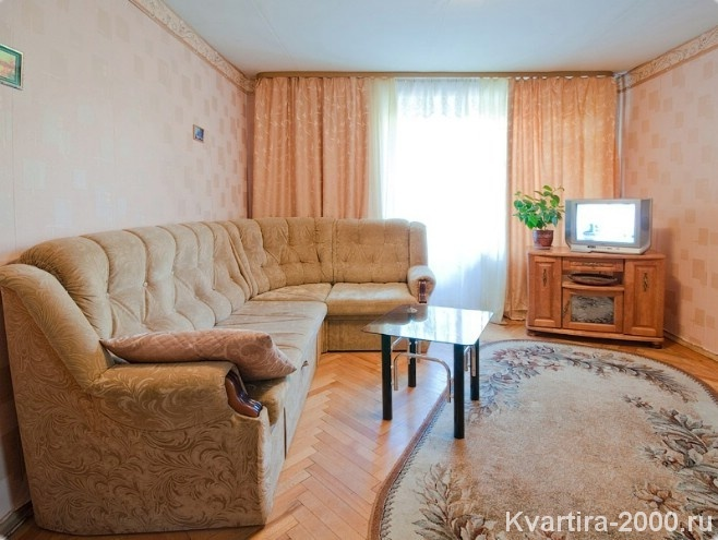 Двухкомнатная квартира посуточно м. Белорусская