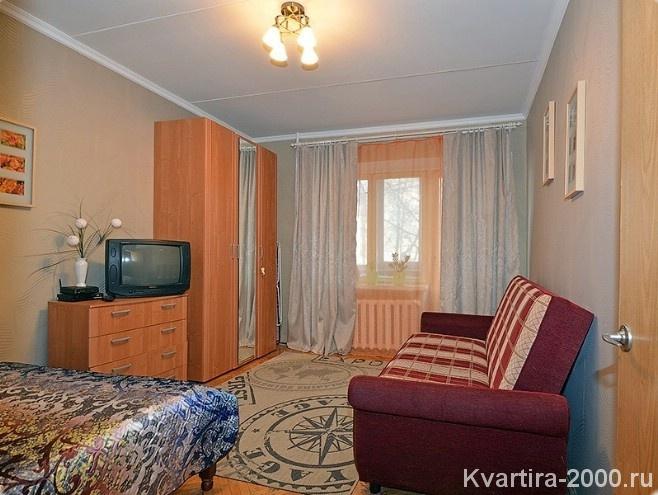 Снять на сутки однокомнатную квартиру у м. Белорусская