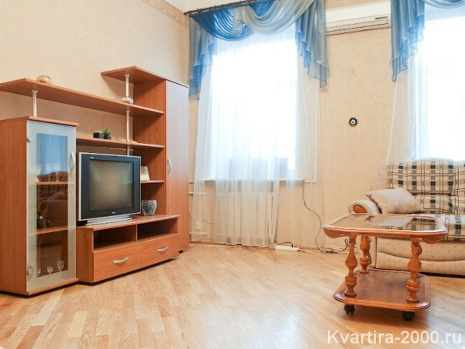 Двухкомнатная квартира посуточно м. Смоленская