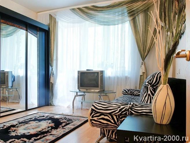 Однокомнатная квартира на сутки м. Смоленская
