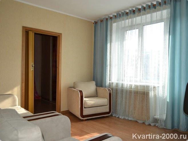 Двухкомнатная квартира посуточно на Белорусской за 3700 рублей