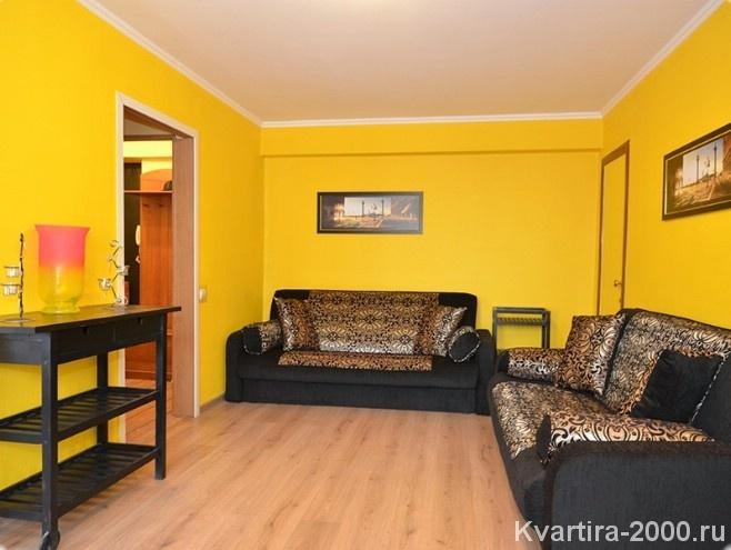 Двухкомнатная квартира посуточно м. Белорусская за 3700 рублей
