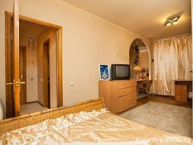 Однокомнатная квартира посуточно м. Киевская по цене 3300 рублей