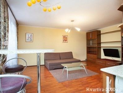 Однокомнатная квартира посуточно м. Арбатская за 3300 рублей