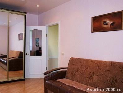 Однокомнатная квартира на сутки м. Серпуховская по цене 2800 рублей