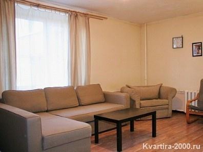 Однокомнатная квартира на сутки м. Динамо по цене 2800 рублей