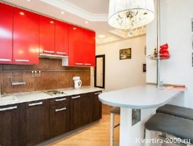Двухкомнатная квартира посуточно м. Каширская по цене 3200 рублей
