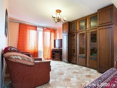 Двухкомнатная квартира посуточно м. Улица 1905 года за 3500 рублей