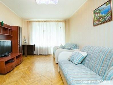Двухкомнатная квартира посуточно м. Тимирязевская по цене 3400 рублей