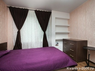 Двухкомнатная квартира на сутки м. ВДНХ по цене 3400 рублей