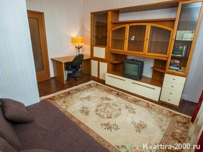 Двухкомнатная квартира посуточно м. Красносельская по цене 3400 рублей
