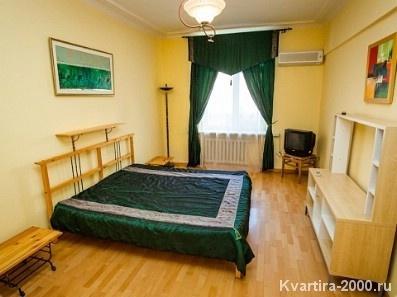 Двухкомнатная квартира на сутки м. Алексеевская за 3300 рублей