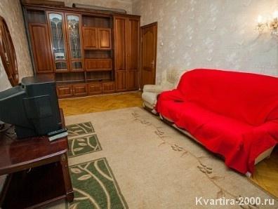 Двухкомнатная квартира на сутки м. Алексеевская за 3400 рублей