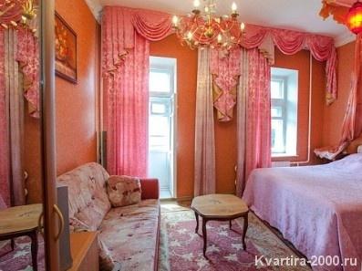 Двухкомнатная  квартира посуточно м. Павелецкая по цене 3600 рублей