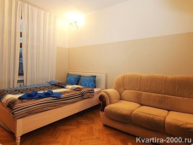 Двухкомнатная квартира посуточно м. Красные ворота по цене 4000 рублей