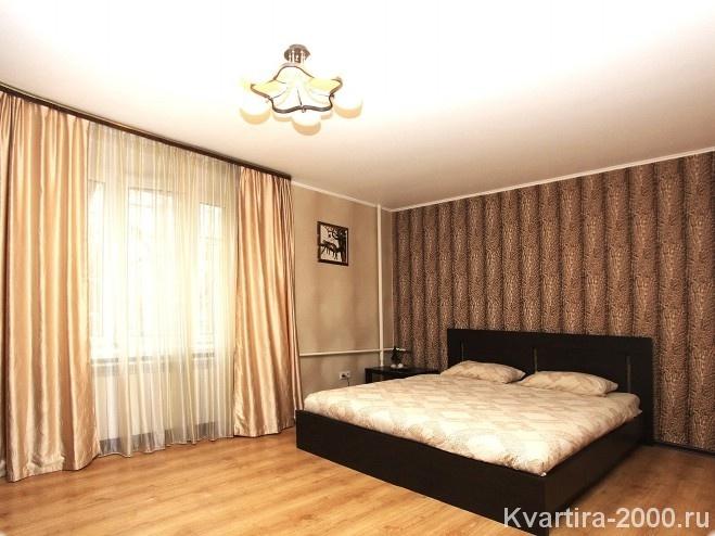 Однокомнатная квартира на сутки м. Улица 1905 года по цене 3000 рублей