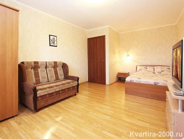 Однокомнатная квартира посуточно м. Коломенская по цене 2900 рублей