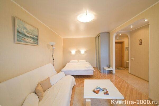 Однокомнатная квартира на сутки м. Белорусская по цене 3500 рублей