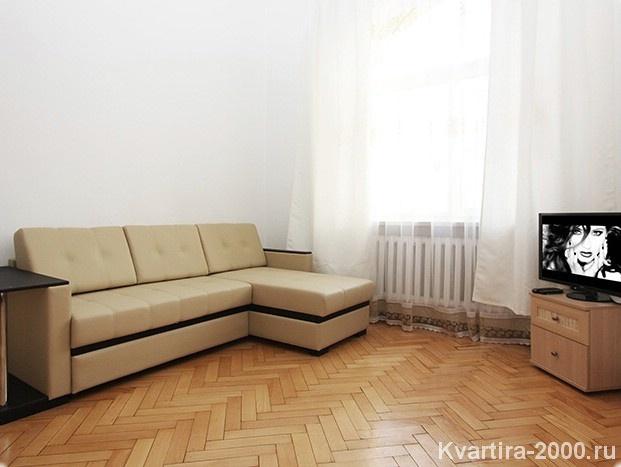 Двухкомнатная квартира посуточно м. Сухаревская по цене 3600 рублей