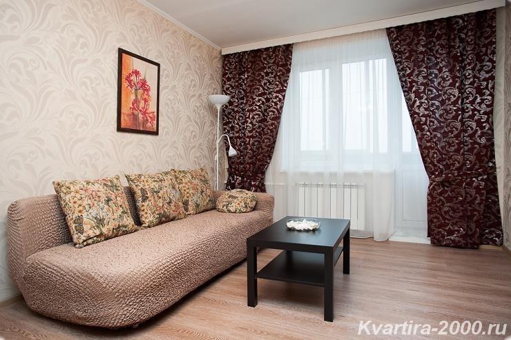 Однокомнатная квартира в посуточную аренду м. Ленинский проспект