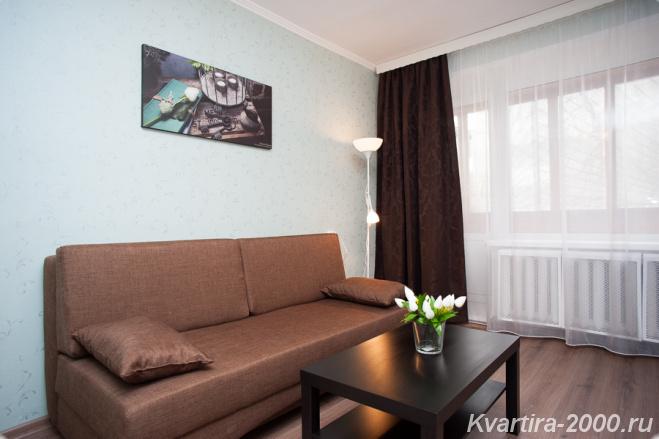 Однокомнатная квартира посуточно м. Проспект мира