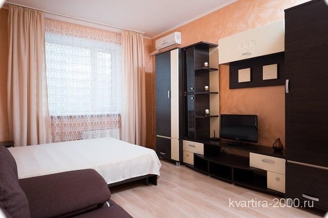 Однокомнатная квартира на сутки м. Серпуховская