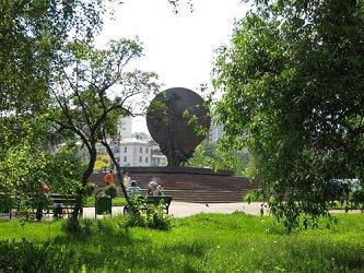 Памятник Хо Ши Мину в Москве