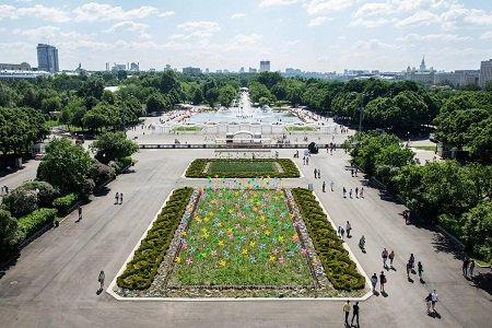 Парк Горького в Москве, метро Шаболовская