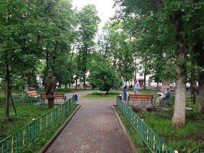 Михайловский сад около метро Добрынинская