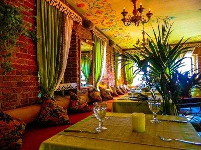 Ресторан «Алтай» рядом с метро Новокузнецкая