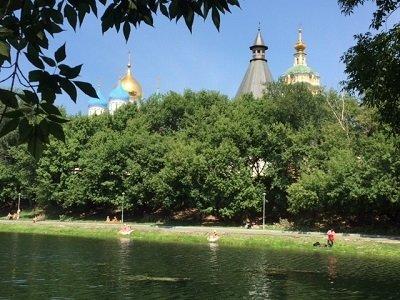 Новоспасский пруд около метро Таганская