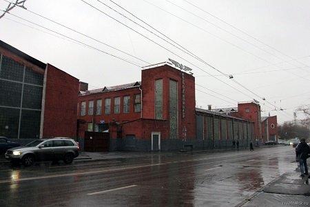 Гараж на Новорязанской улице