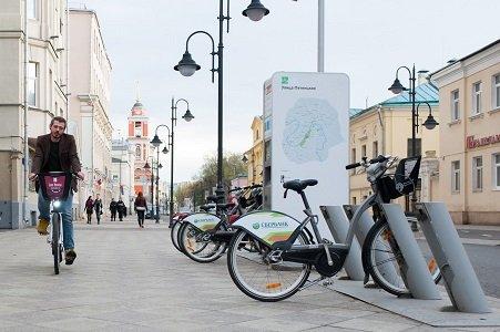 ВелоБайк в Москве на Тульской