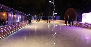 Каток «Русская зима» в Москве