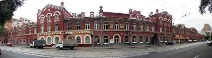 Миусский сквер и трамвайный парк на Белорусской